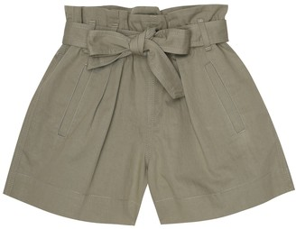 BRUNELLO CUCINELLI KIDS Cotton-blend shorts