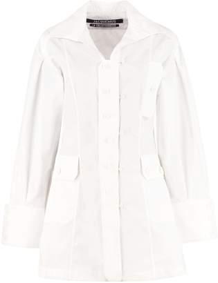 Jacquemus Roman Cotton Shirtdress