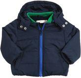 Stella McCartney Nylon Puffer Jacket With Plush Lining