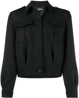 Karl Lagerfeld Paris Army bomber jacket