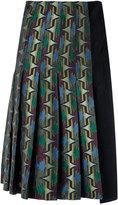 Reinaldo Lourenço - all-over print skirt - women - Acetate - 36