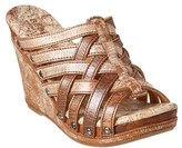 Bed Stu Gina Leather Wedge Sandal.