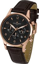 Jacques Lemans Men's Quartz Watch London 1-1654G with Leather Strap