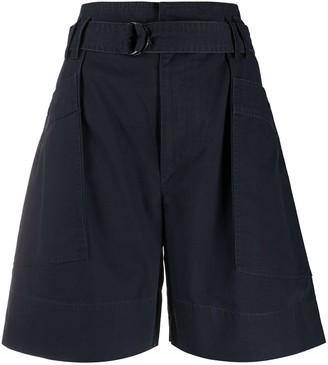 Etoile Isabel Marant Zayna wide leg shorts