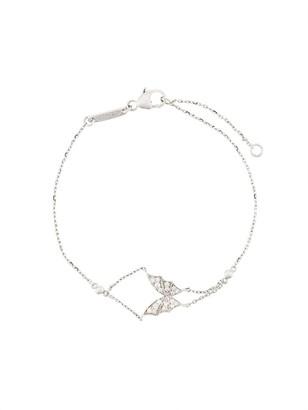 Stephen Webster 18kt white gold Fly by Night butterfly diamond bracelet