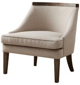 Nobrand No Brand Coulter Reclaimed Trim Accent Chair - Cream