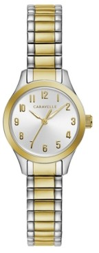 Caravelle Designed by Bulova Women's Two-Tone Stainless Steel Bracelet Watch 24mm