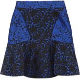 Patty brocade mini skirt