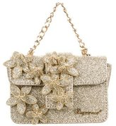 DSQUARED2 Glitter-Embellished Crossbody Bag