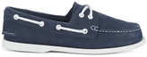 Sperry A/o 2eye Washable Leather Boat Shoes - Navy