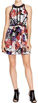 Parker Women's Hudson Piped Sleeveless Fit and Flare Dress