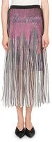 Balenciaga Plisse Midi Skirt