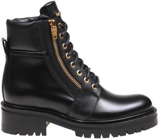 Balmain Ranger Boot In Black Leather