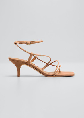 Emme Parsons 50mm Tobias Strappy Thong Sandals