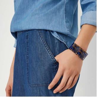 Joe Fresh Women's Acrylic Cuff Bracelet, Blue (Size O/S)