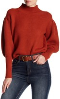 Do & Be Do + Be Puff Sleeve Turtleneck Sweater