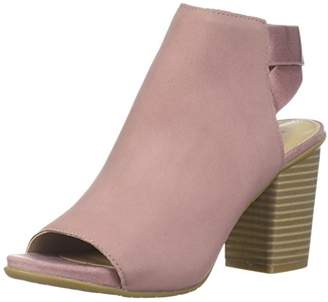 Kenneth Cole Reaction Women's Fridah Fly Toe and Open Heel Ankle Bootie Boot