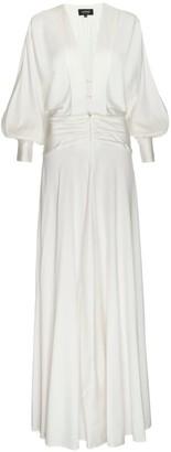 Lahive Sanji Long Sleeve V-Neck Dress