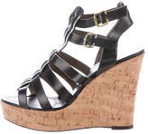 Barbara Bui Cage Wedge Sandals