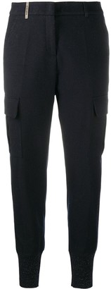 Peserico Glitter-Panel Trousers