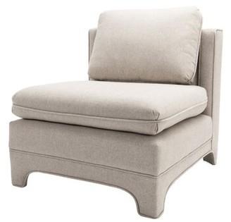 """Worlds Away 29"""" Slipper Chair"""