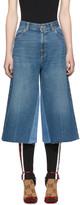 Gucci Blue Denim Culottes