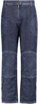 J.W.Anderson Mid-Rise Paneled Straight-Leg Jeans