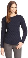 Allison Collection Women's Cable Knit Pullover Sweater