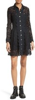 The Kooples Women's Lace Shirtdress