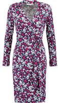 Diane von Furstenberg Jeanne Stretch Cotton-Blend Wrap Dress