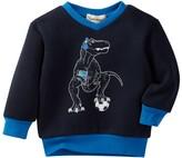 Beetle & Thread Dinosaur V-Neck Sweater (Baby Boys)