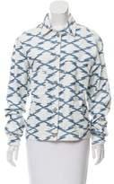 Etoile Isabel Marant Printed Denim Jacket
