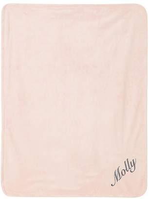 Pottery Barn Kids Chamois Baby Blanket, Stroller Blanket, Light Pink