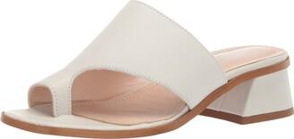 Kenneth Cole New York Women's Wellsi Peep Toe Slide Sandal Sandal
