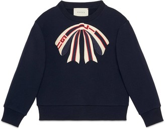 Gucci Children's sweatshirt with bow