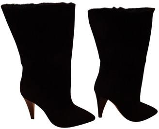IRO Fall Winter 2018 Black Suede Boots