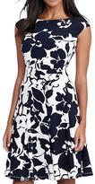 Lauren Ralph Lauren Petites Floral-Print Dress