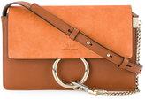 Chloé Small Orange Faye Shoulder Bag - women - Calf Leather/Calf Suede - One Size