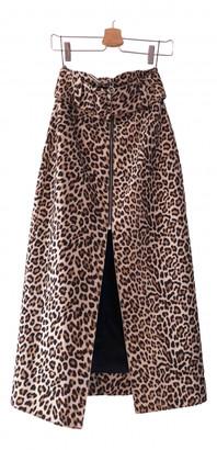 Carven Beige Wool Skirts