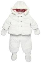 Diesel Janeyb Abito Snowsuit (Infant) (White) - Apparel