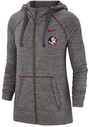 Nike Women Florida State Seminoles Gym Vintage Full-Zip Jacket
