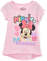 Children's Apparel Network Pink Minnie Mouse Wink Tee - Toddler & Girls