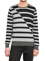 Calvin Klein Jeans Asymmetric Stripey Sweater