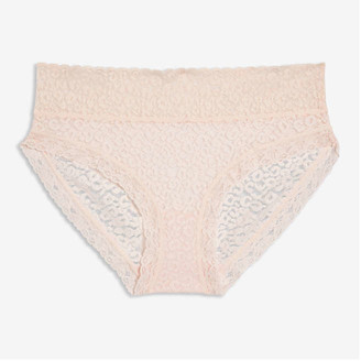 Joe Fresh Women's Lace Hipster, Pink (Size M)