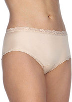 Cotillion Nylon Lace-Trim Hipster Panty