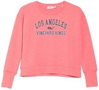 Vineyard Vines Los Angeles Crew Neck Pullover Sweatshirt