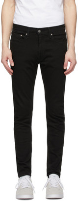 Levi's Levis Black 512 Slim Taper Jeans