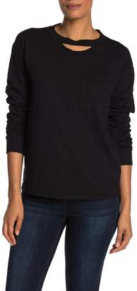 n:philanthropy Cage Distressed Long Sleeve T-Shirt