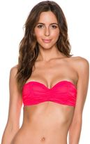 Billabong Sol Searcher Ruched Bustier Bikini Top