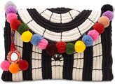 Vince Camuto Sevil Pom Pom Small Clutch